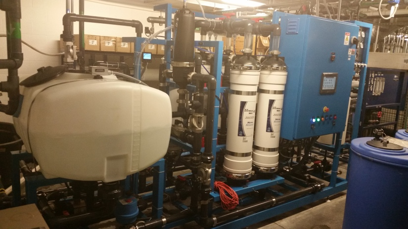 Ultrafiltration System for Wastewater Reclaim