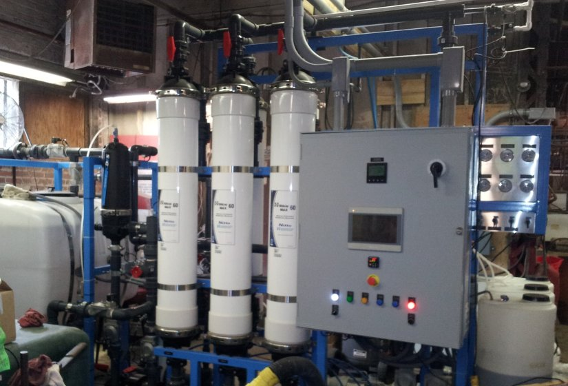 Ultrafiltration System for Plating Wastewater