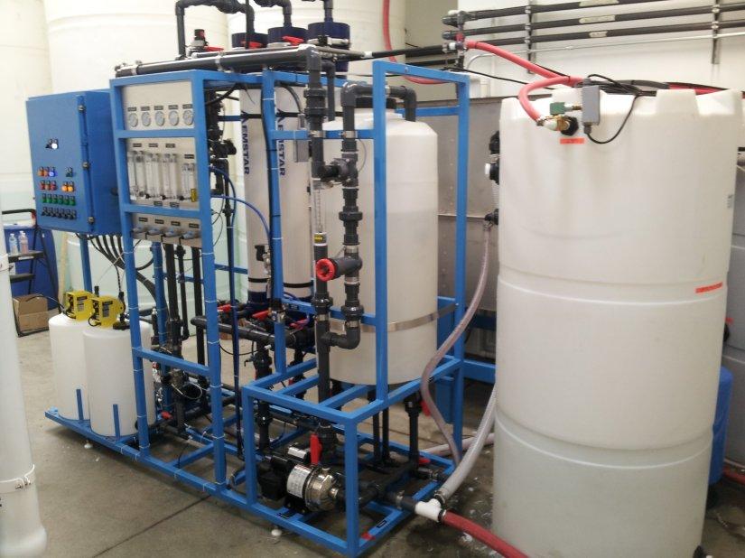 Reclaimed Car WashWastewater