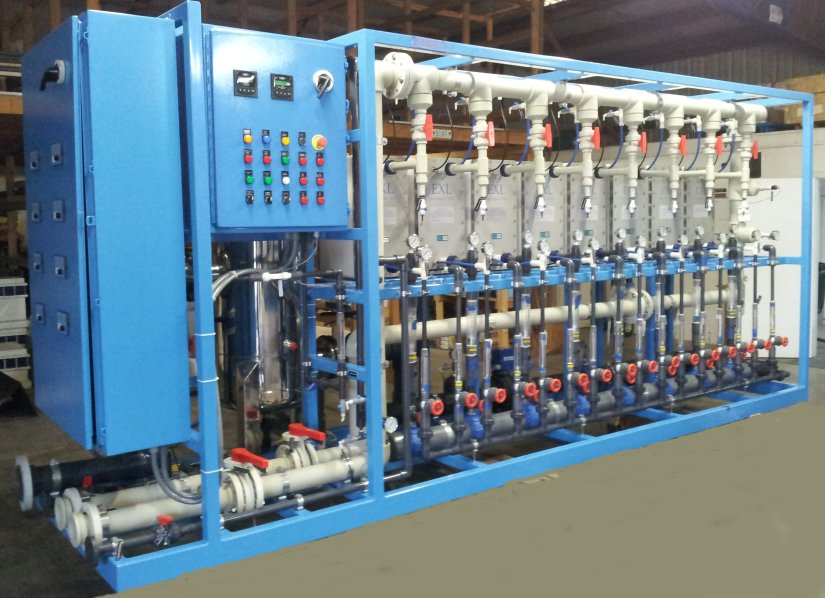 Electro-Deionization for Power Plant