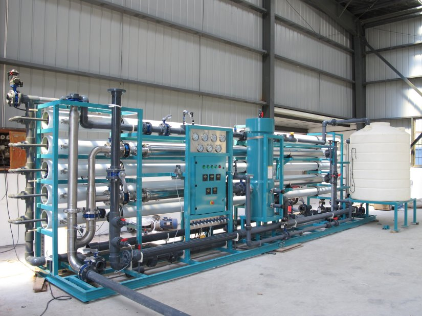 Sea Water Reverse Osmosis for Dewatering