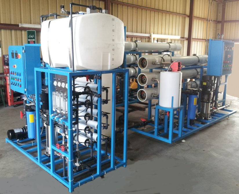 3-Stage Reverse Osmosis for Pharmaceutical Wastewater Reclaim